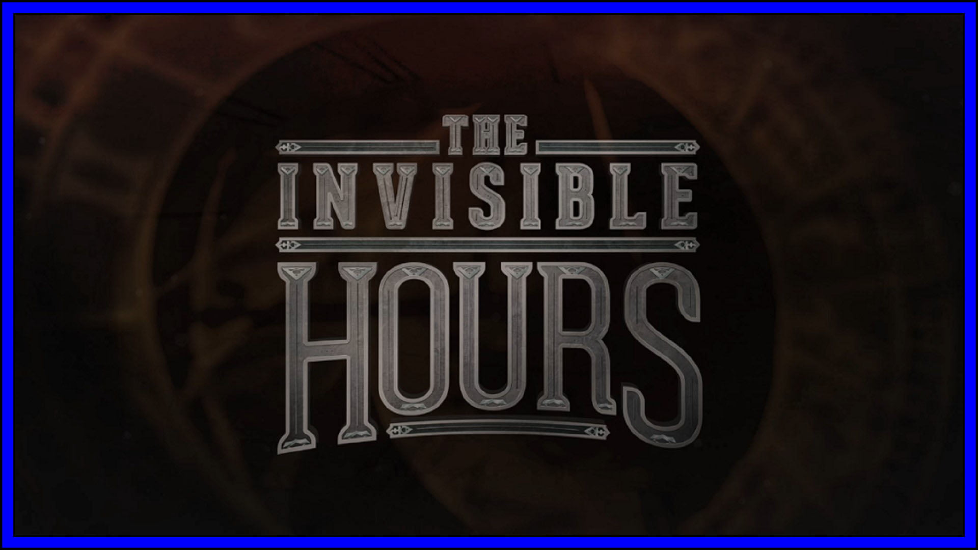 The Invisible Hours Fi3