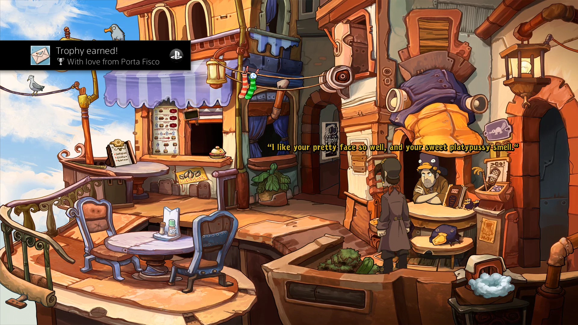 Chaos On Deponia (PS4) Review 3