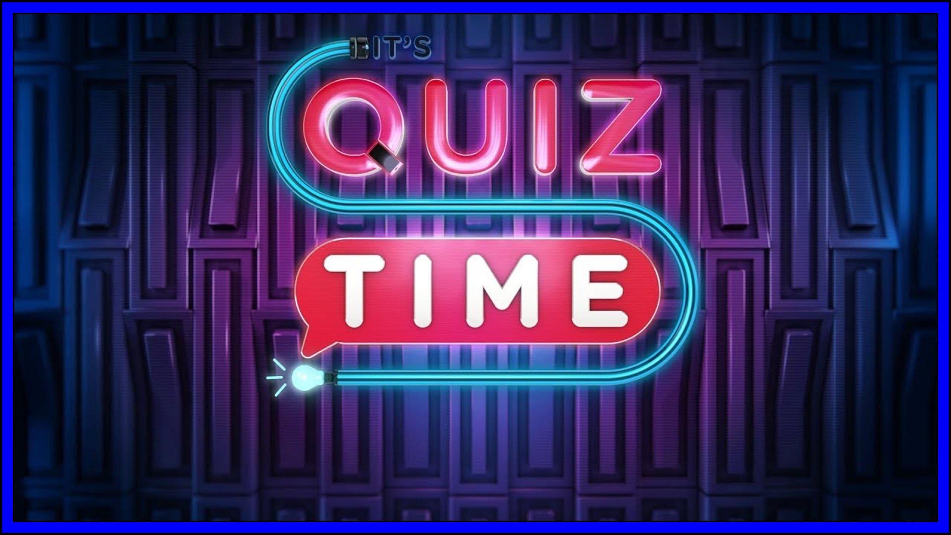 It's Quiz Time Fi3