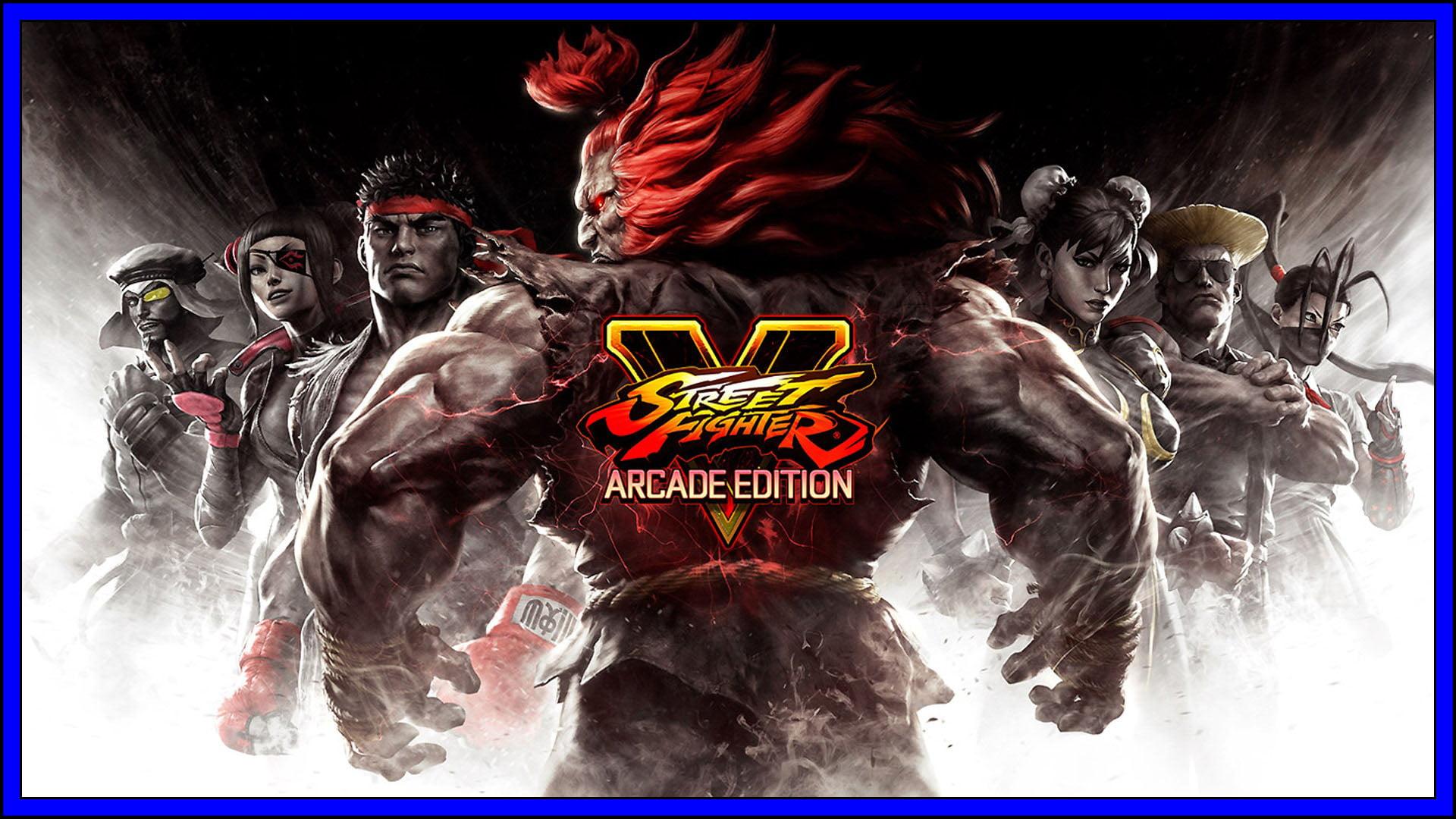 Street Fighter 5 Fi3