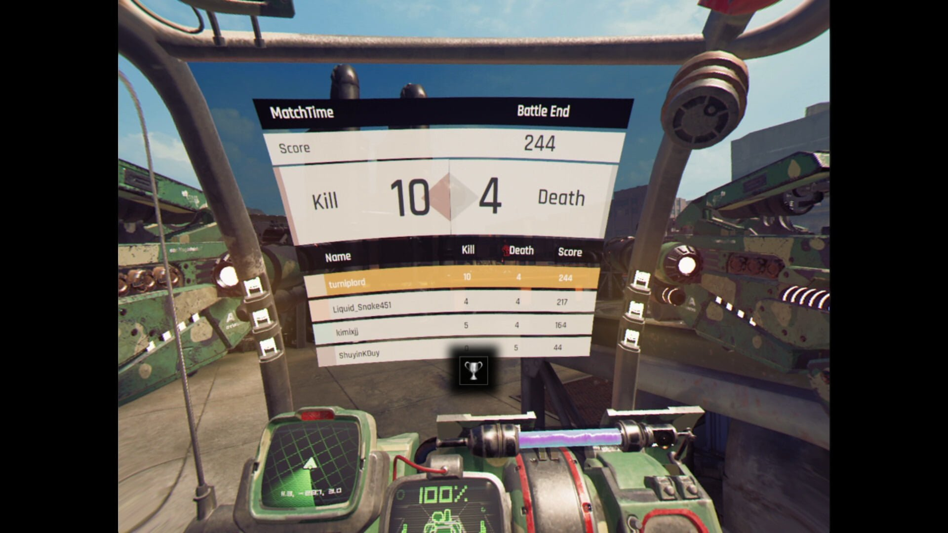 Code51: Mecha Arena (PSVR) Review 5