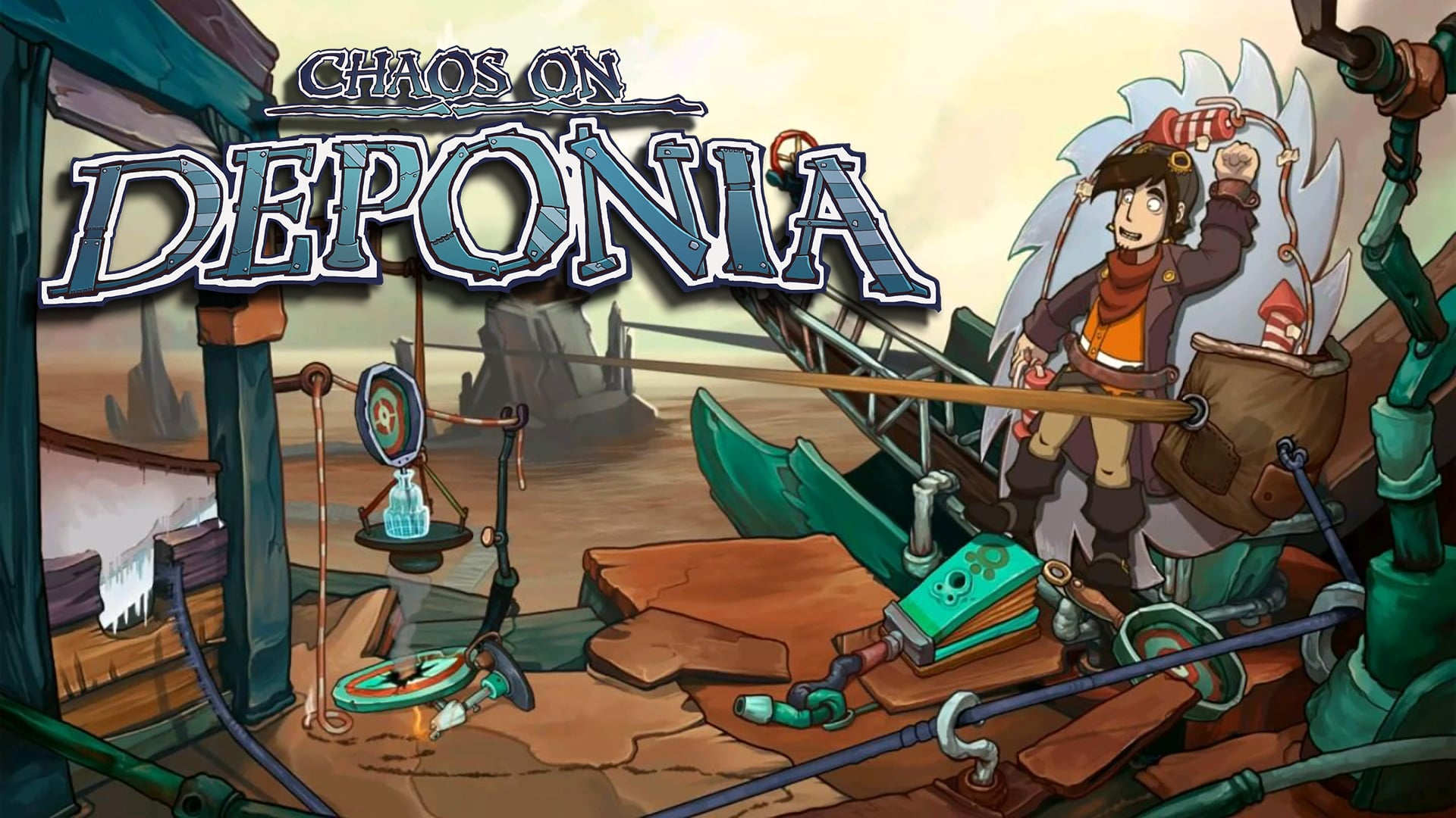 Chaos On Deponia (PS4) Review