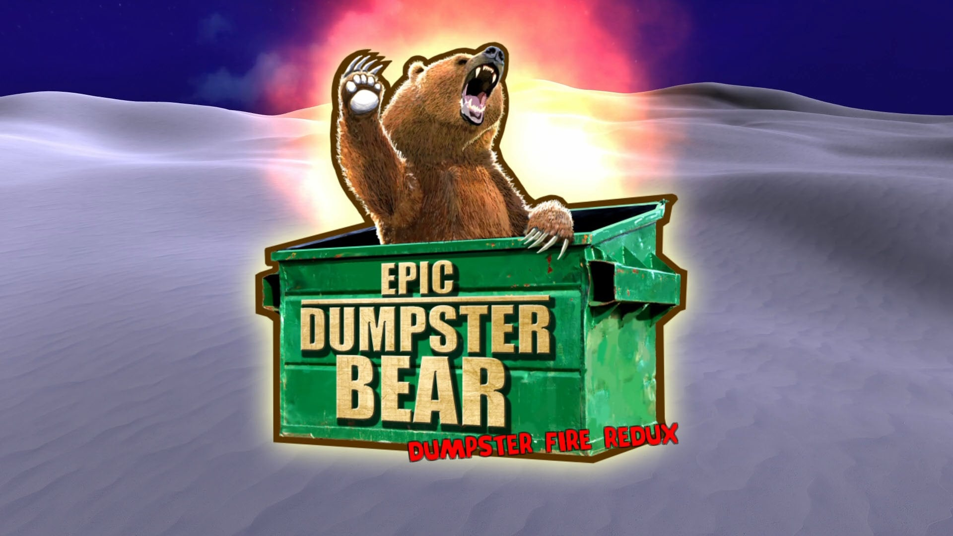 Epic Dumpster Bear: Dumpster Fire Redux (PS4) Review