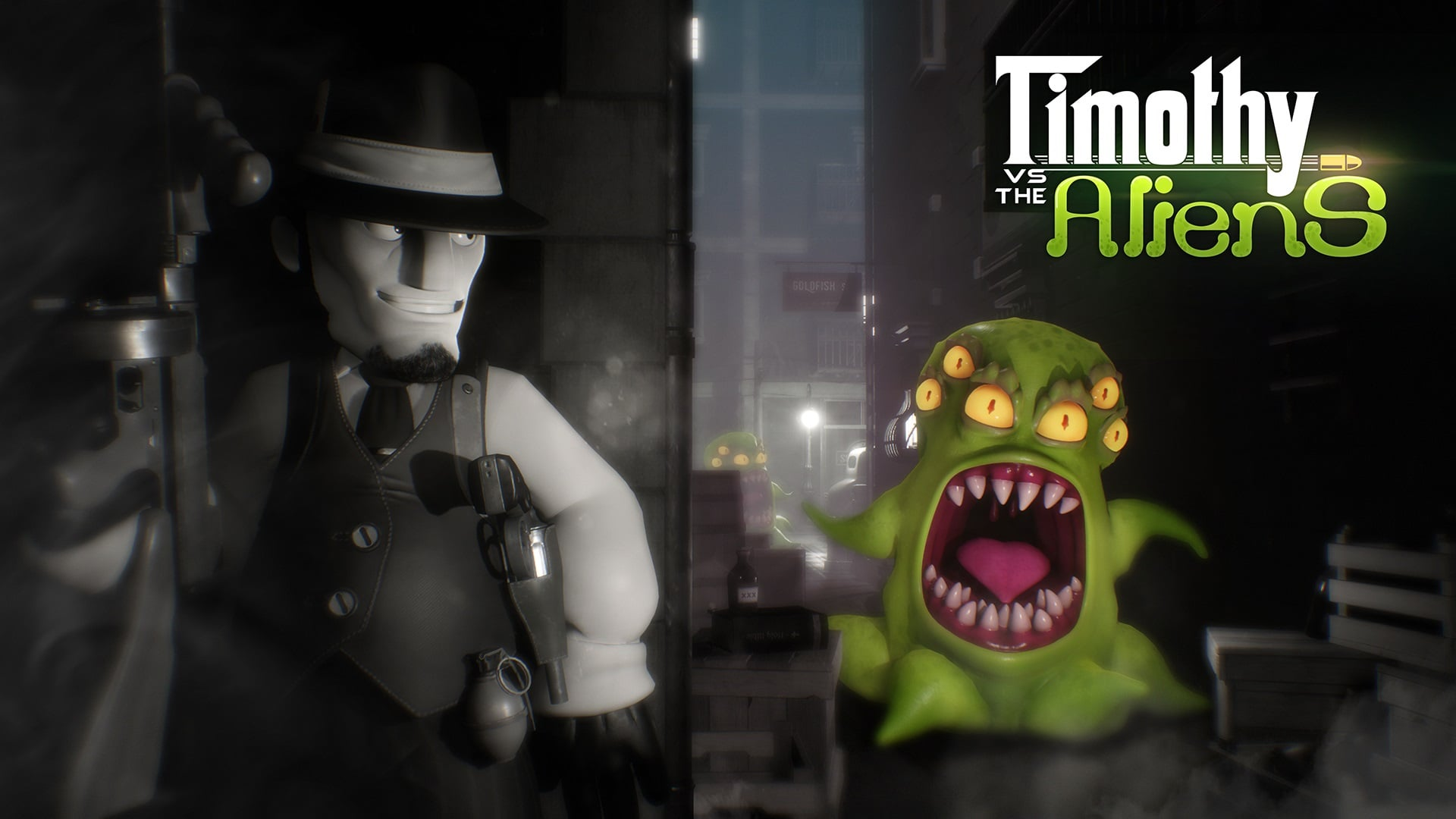 Timothy vs. the Aliens (PS4) Review