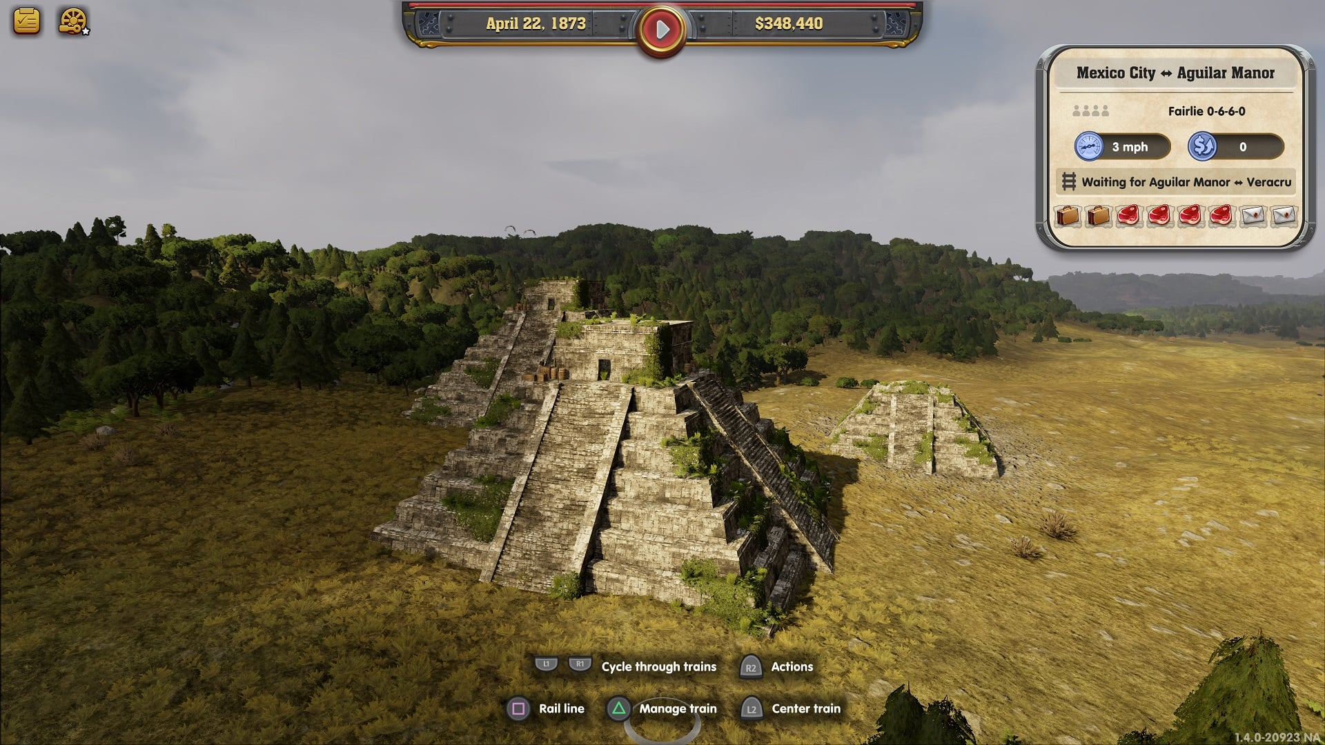 railway empire mexico 2