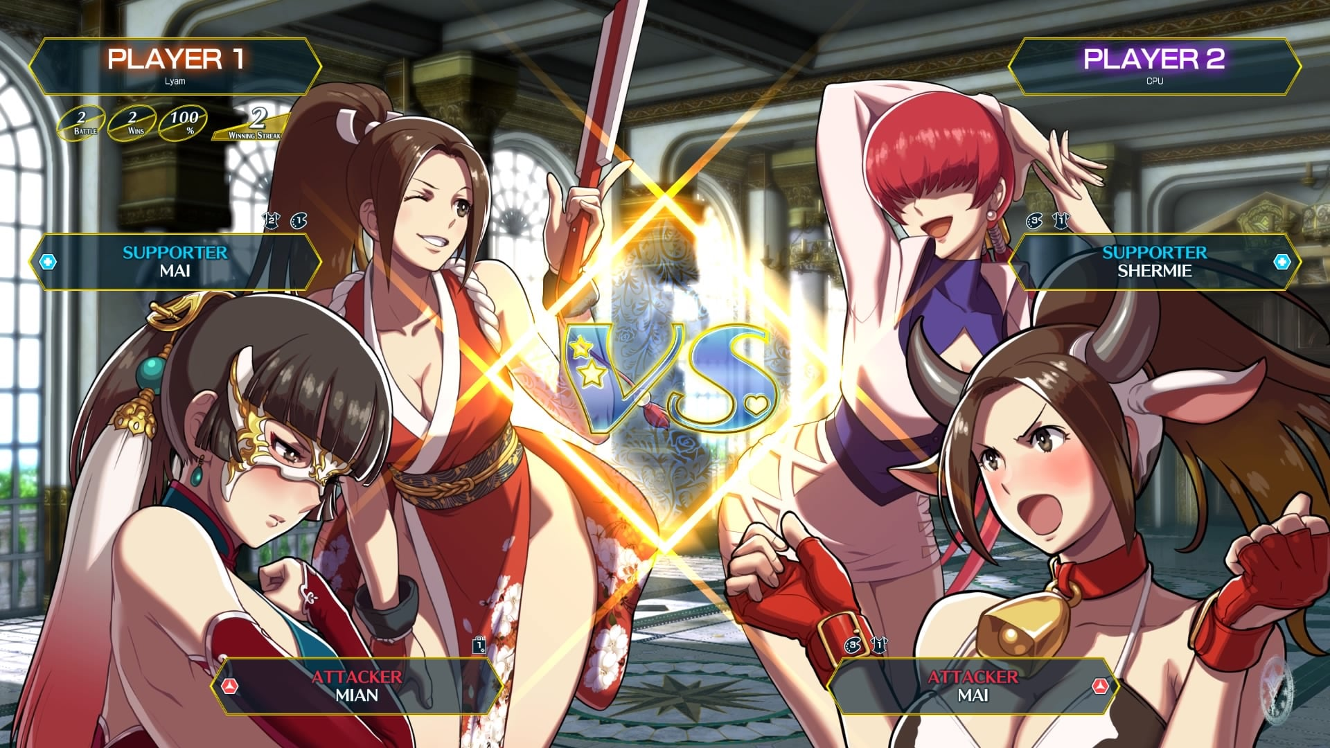 SNK HEROINES Tag Team Frenzy 3