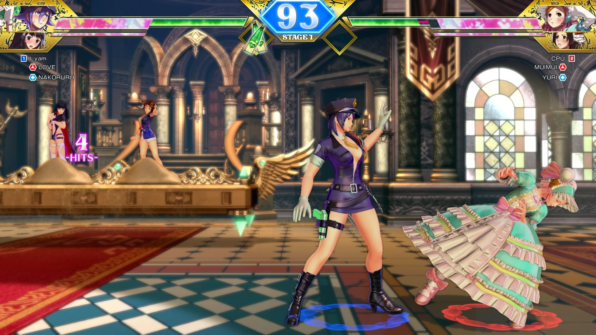 SNK HEROINES Tag Team Frenzy 2