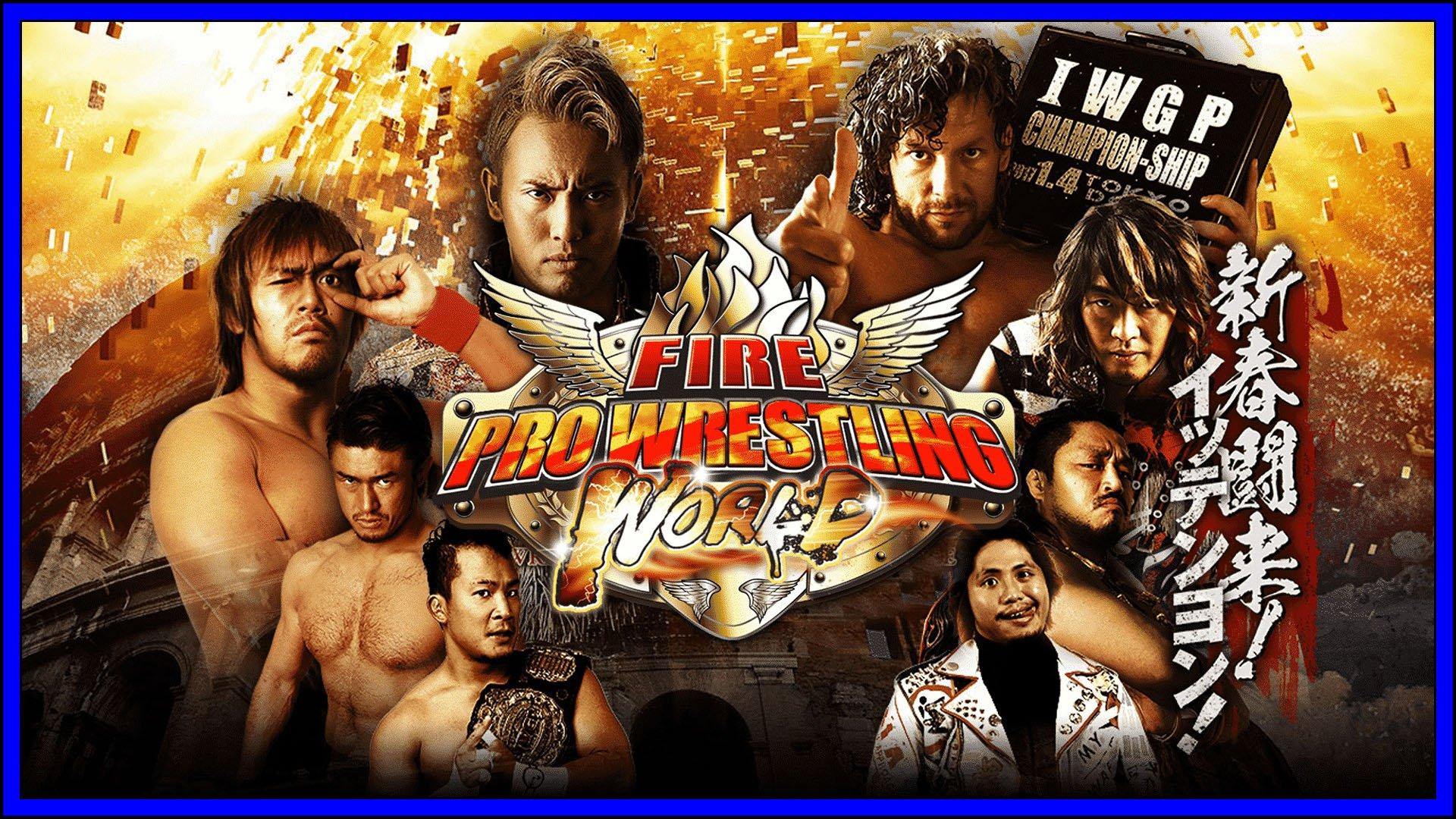 Fire Pro Wrestling Fi3