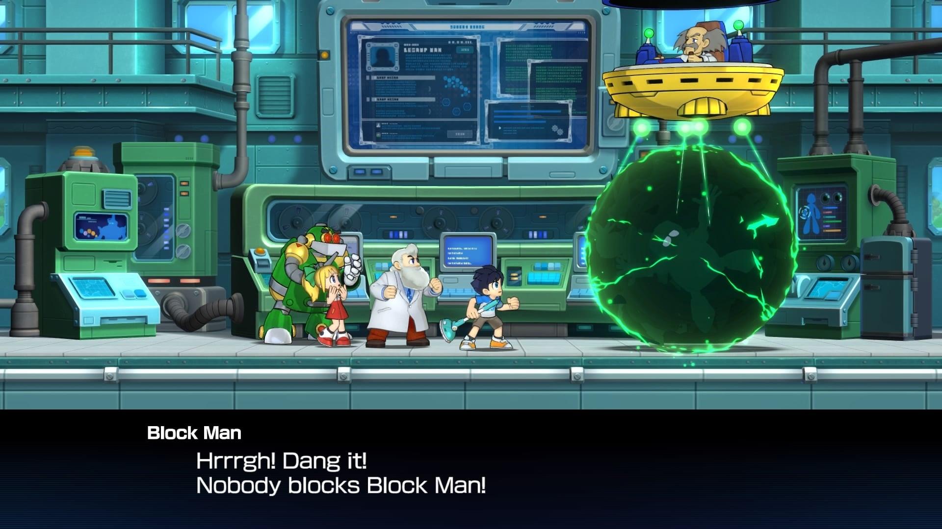 mega man 11 1 - Block Man Nooooo