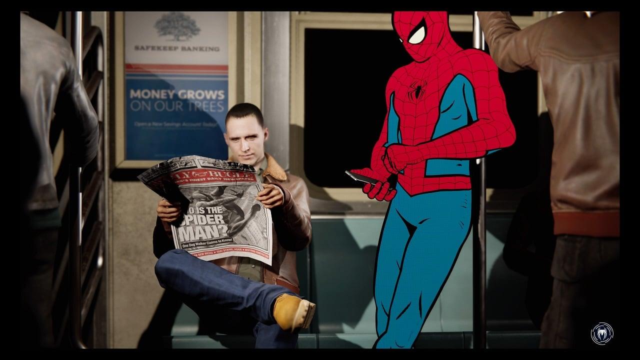 Marvel's spider-man fast travel