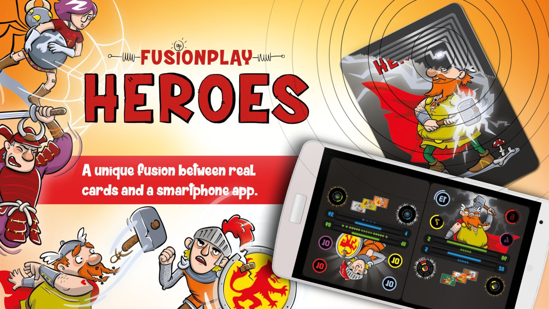 FusionPlay Heroes (NFC Cards and Android Device) Review