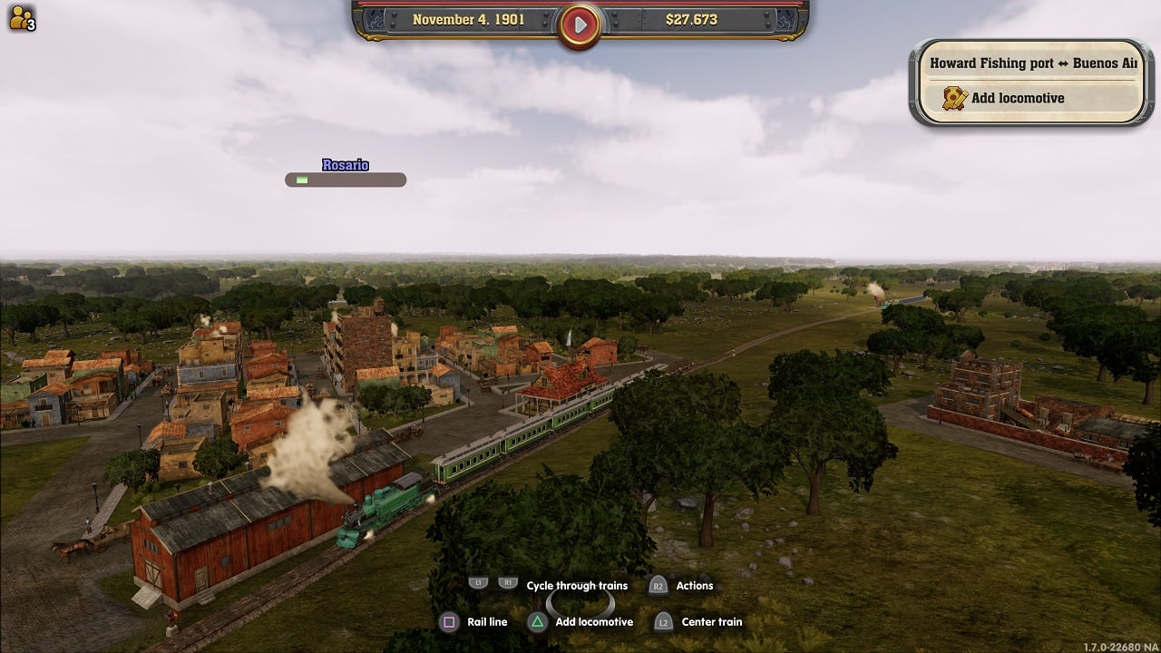 Railway Empire - crossing the andes 1