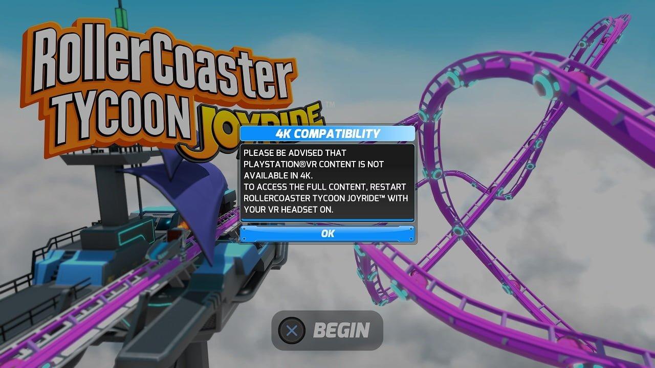 Rollercoaster Tycoon Joyride (PS4, PSVR) Review   GamePitt - Atari