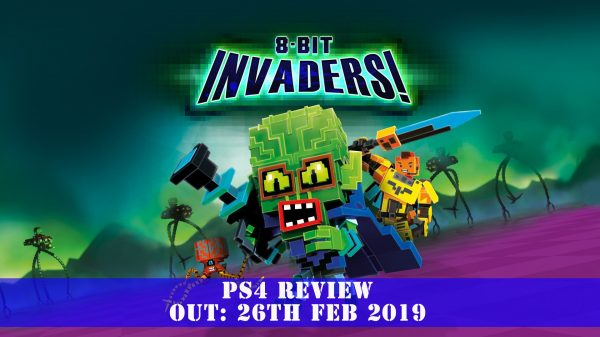 8-Bit Invaders (PS4) Review