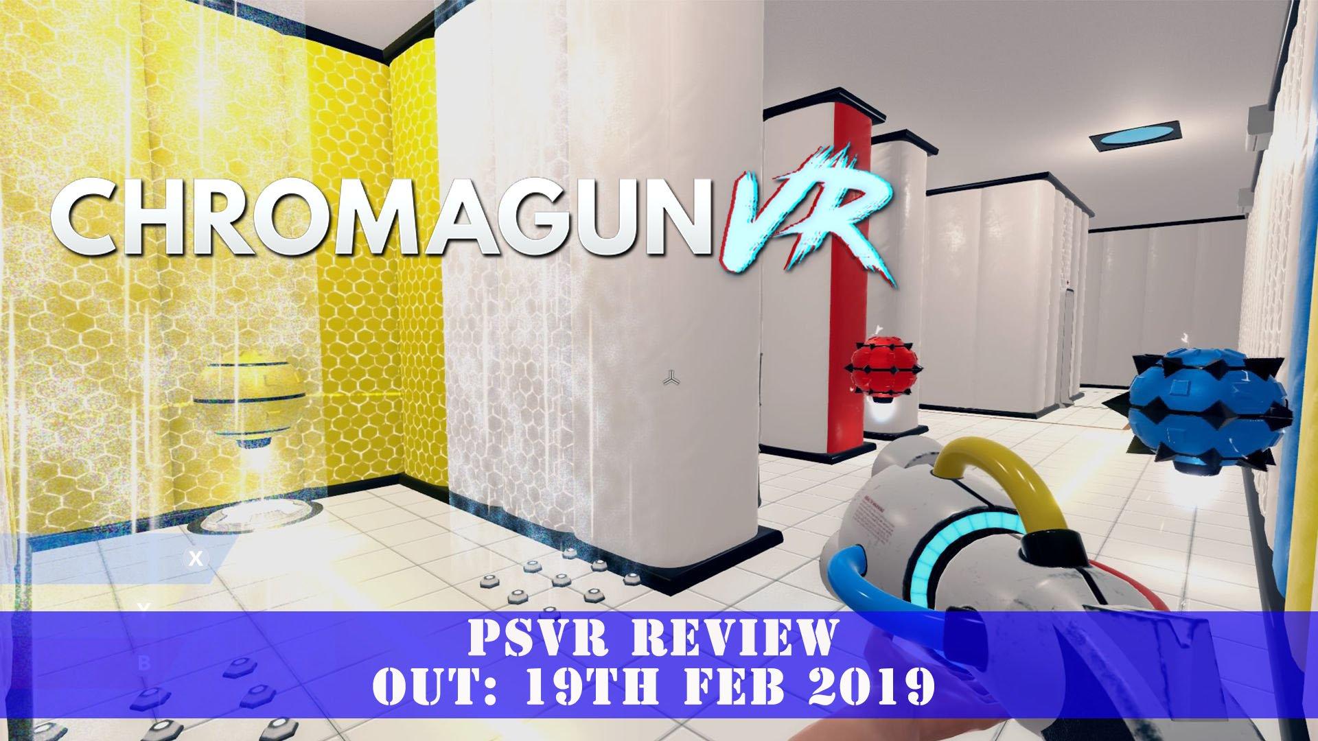 ChromaGun VR (PSVR) Review