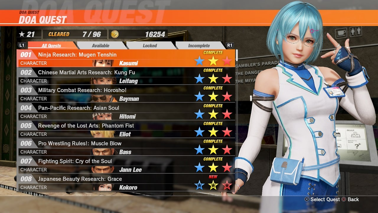 DEAD OR ALIVE 6 3