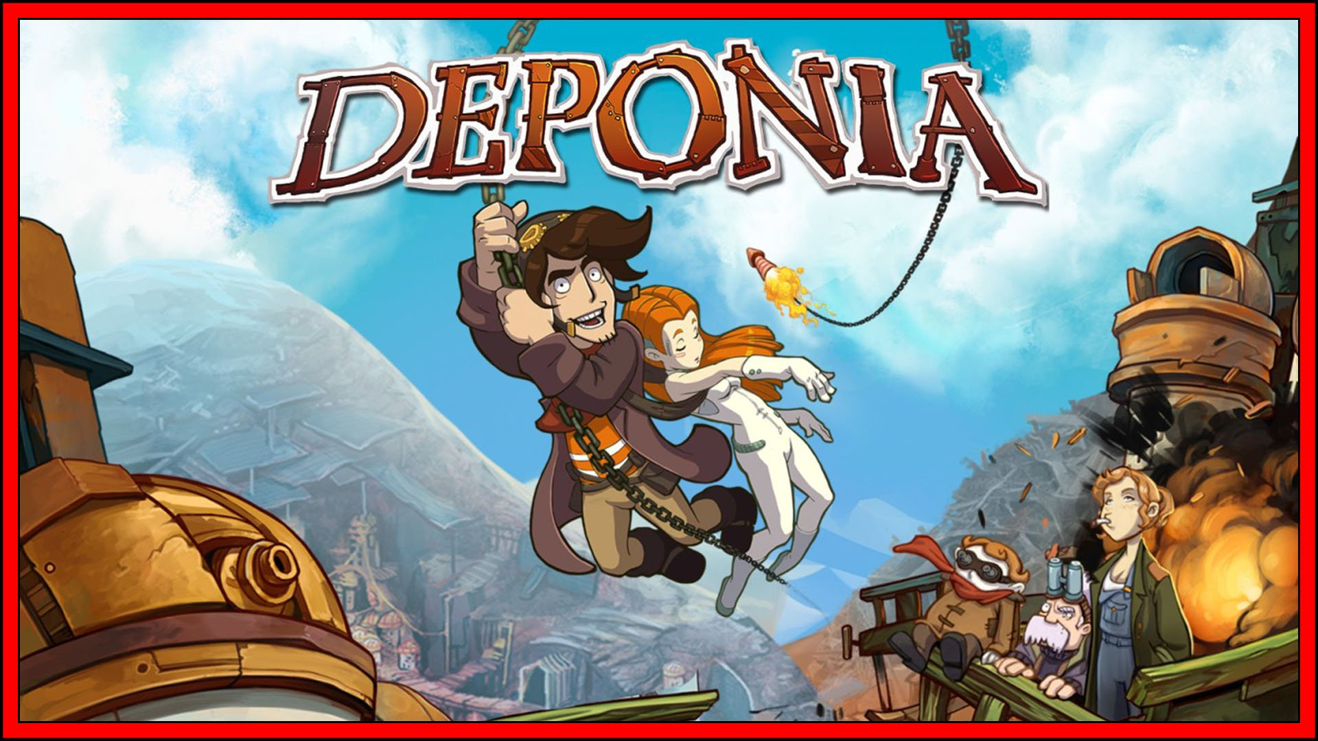 Deponia (Nintendo Switch) Review
