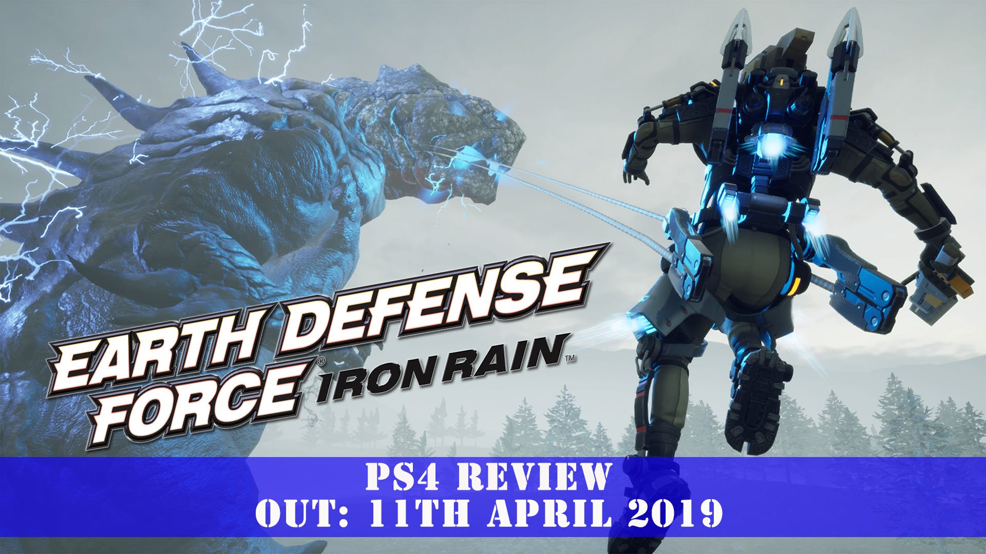Earth Defense Force: Iron Rain [EDF] (PS4) Review