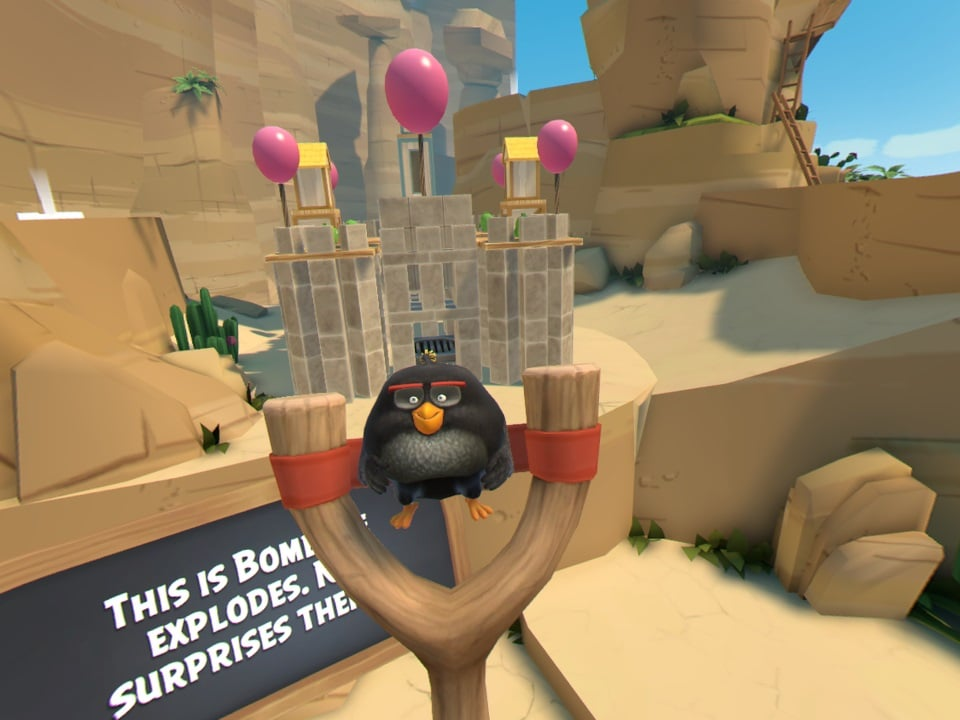 Angry Birds VR Isle of Pigs 3