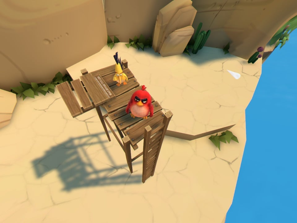Angry Birds VR Isle of Pigs 4