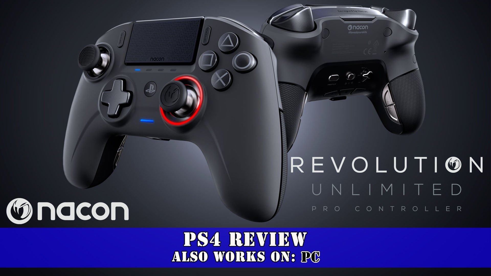 NACON Revolution Unlimited Pro Controller (PS4/PC) Review
