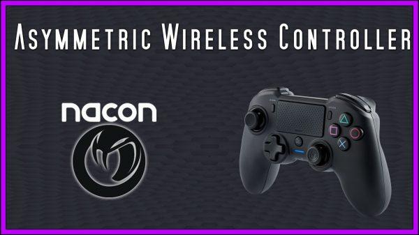 NACON Asymmetric Wireless Controller (PS4 + PC) Review