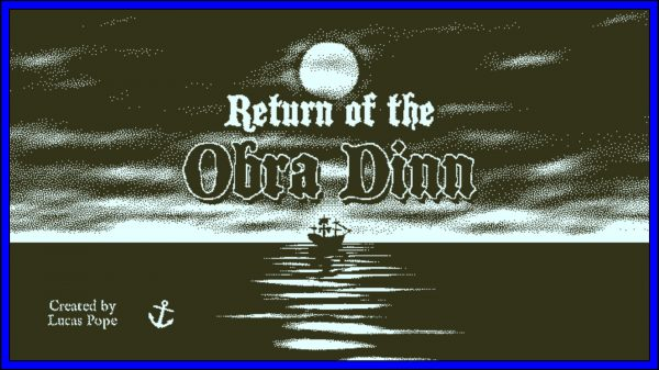 Return of the Obra Dinn (PS4) Review