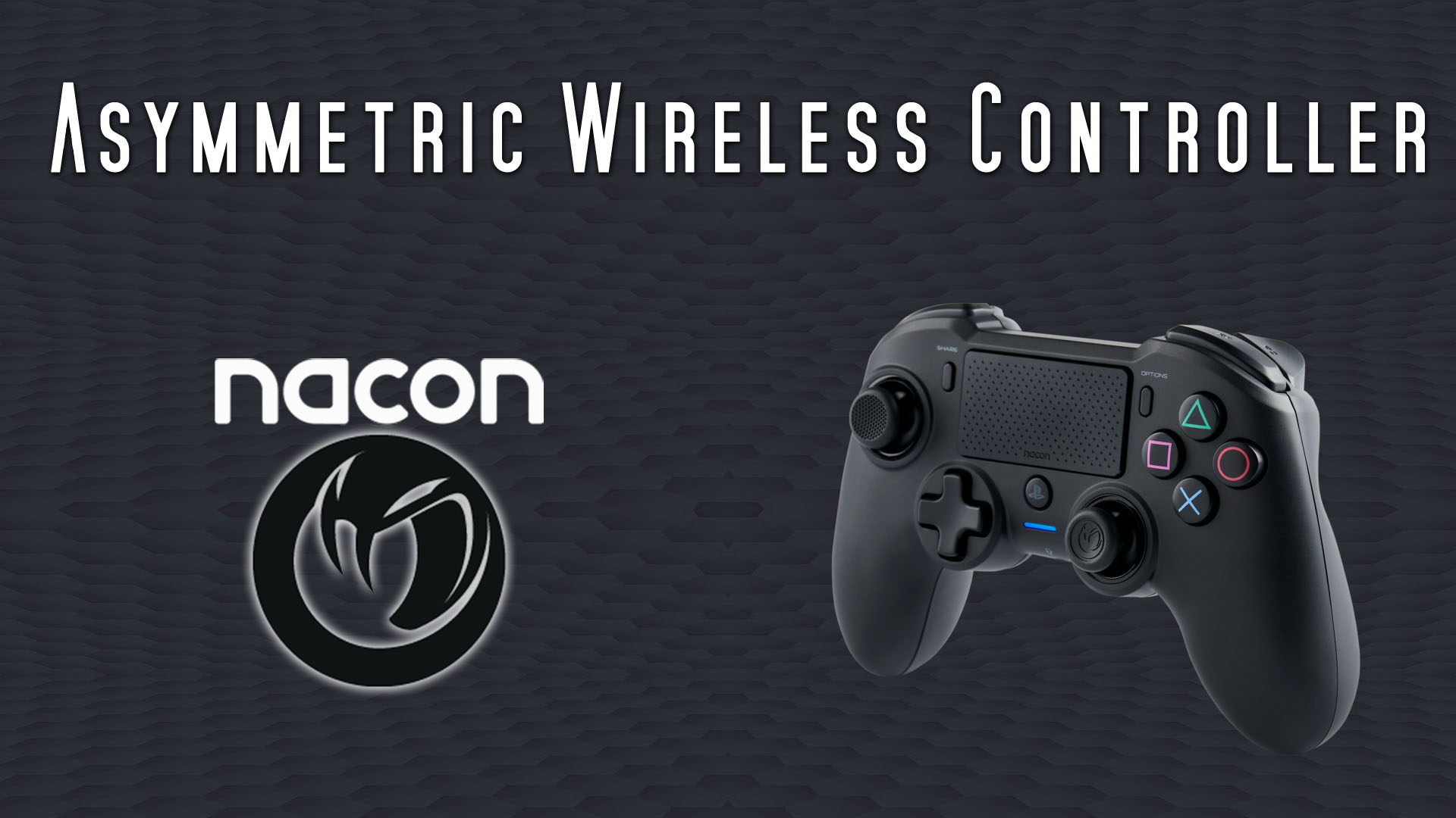 NACON Asymmetric Wireless Controller (PS4 + PC) Review