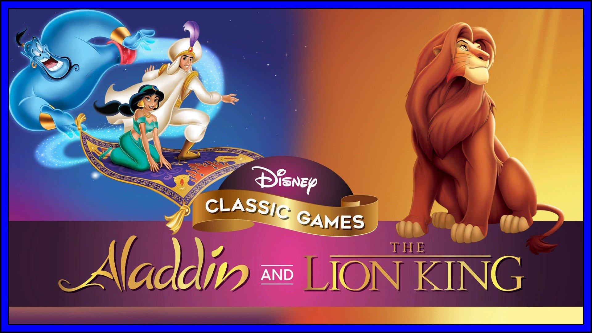 Disney Classics Lion King And Aladdin Fi3