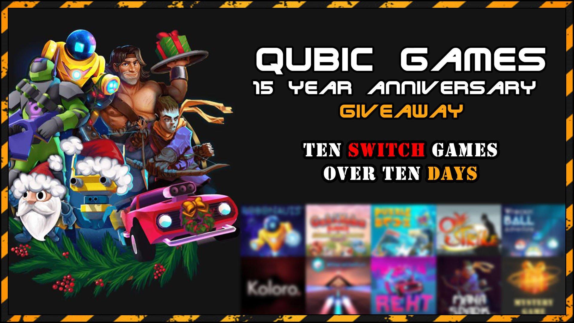 Qubic Games Giveaway 15 Fi3