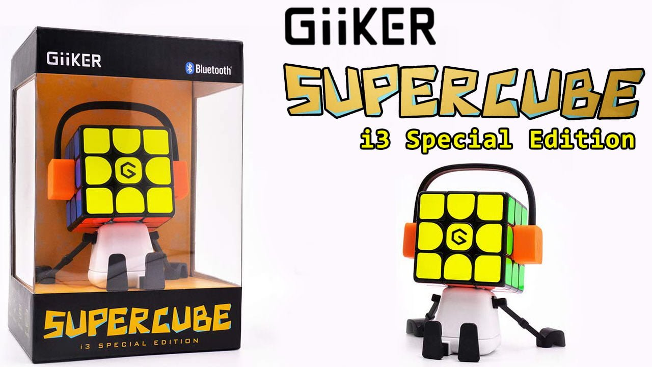 GiiKER Supercube – i3 Special Edition (Review) Physical cube and Mobile app