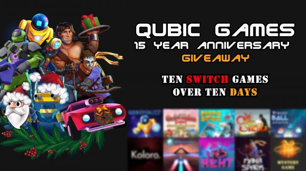 Ten FREE Switch games for Qubic Games' 15th Anniversary