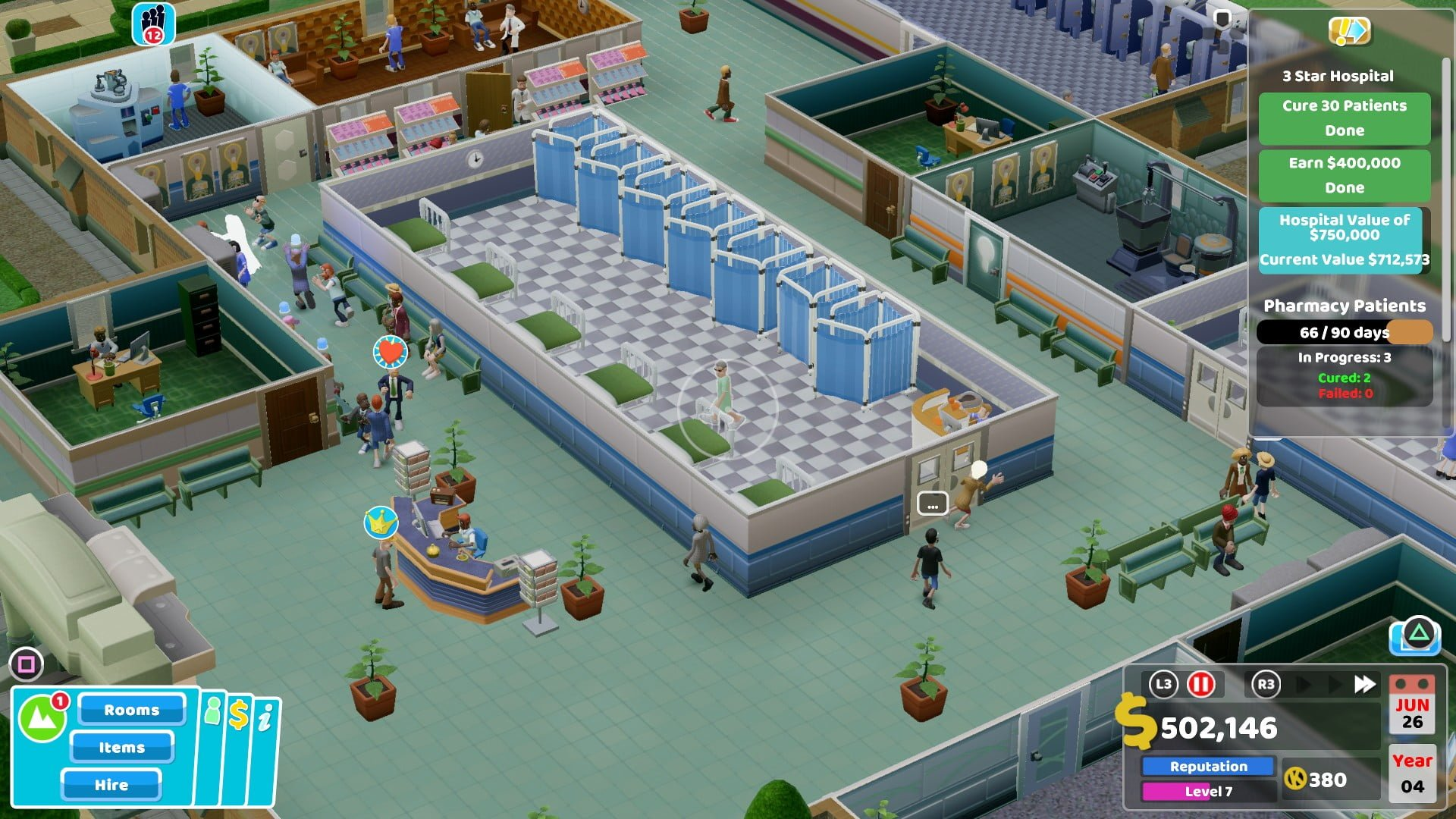 Two Point Hospital 1