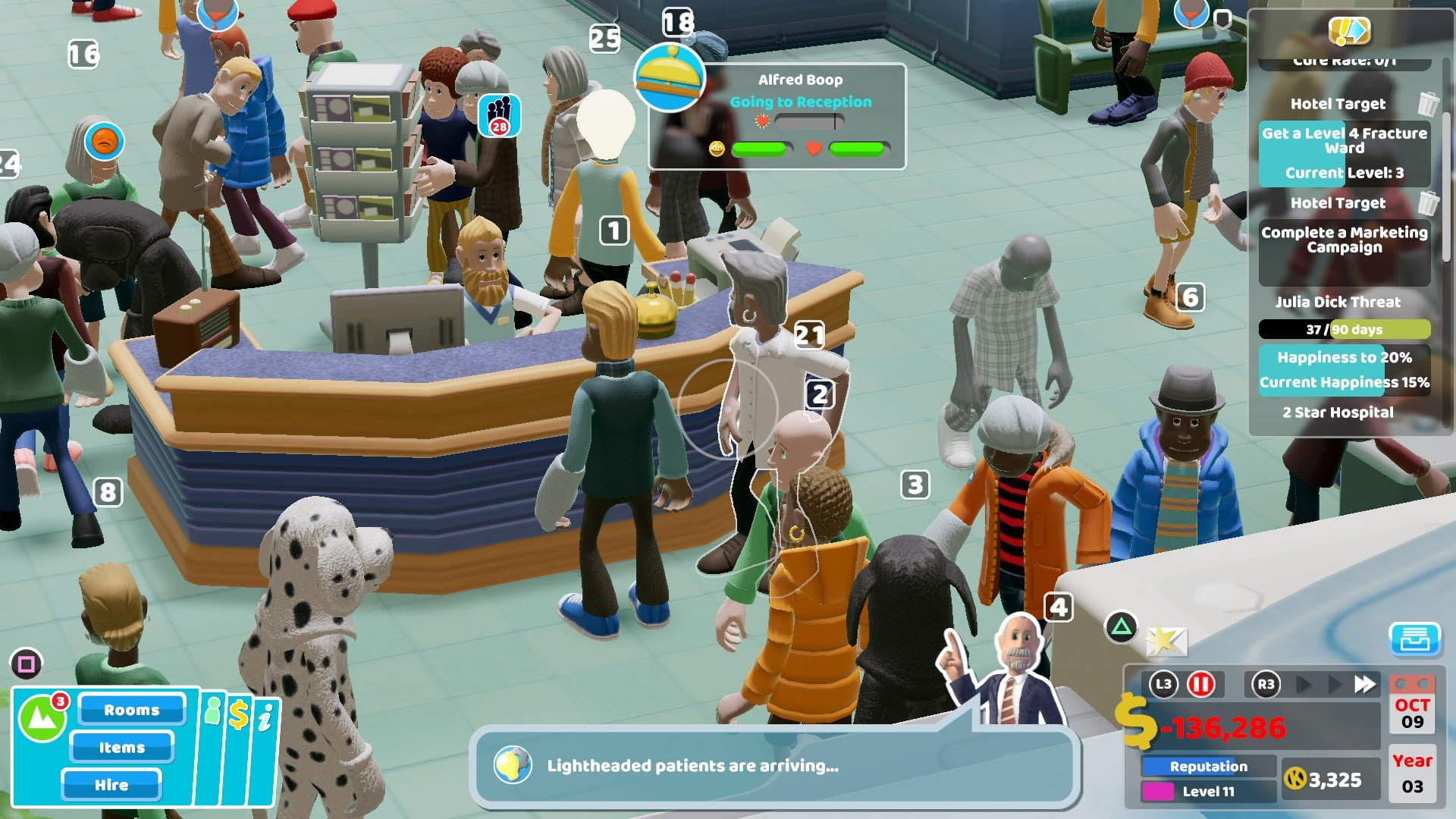 Two Point Hospital 6