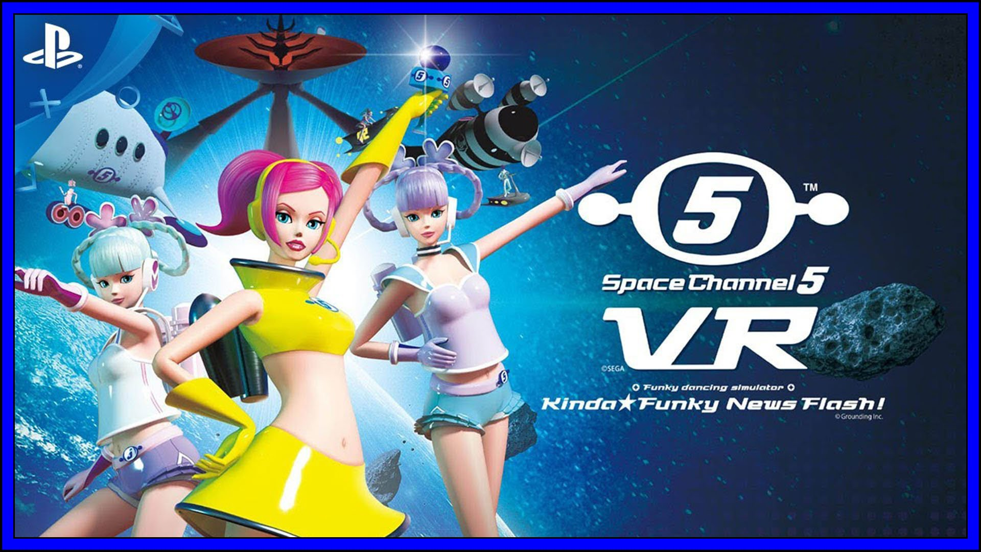 Space Channel 5 VR Fi3