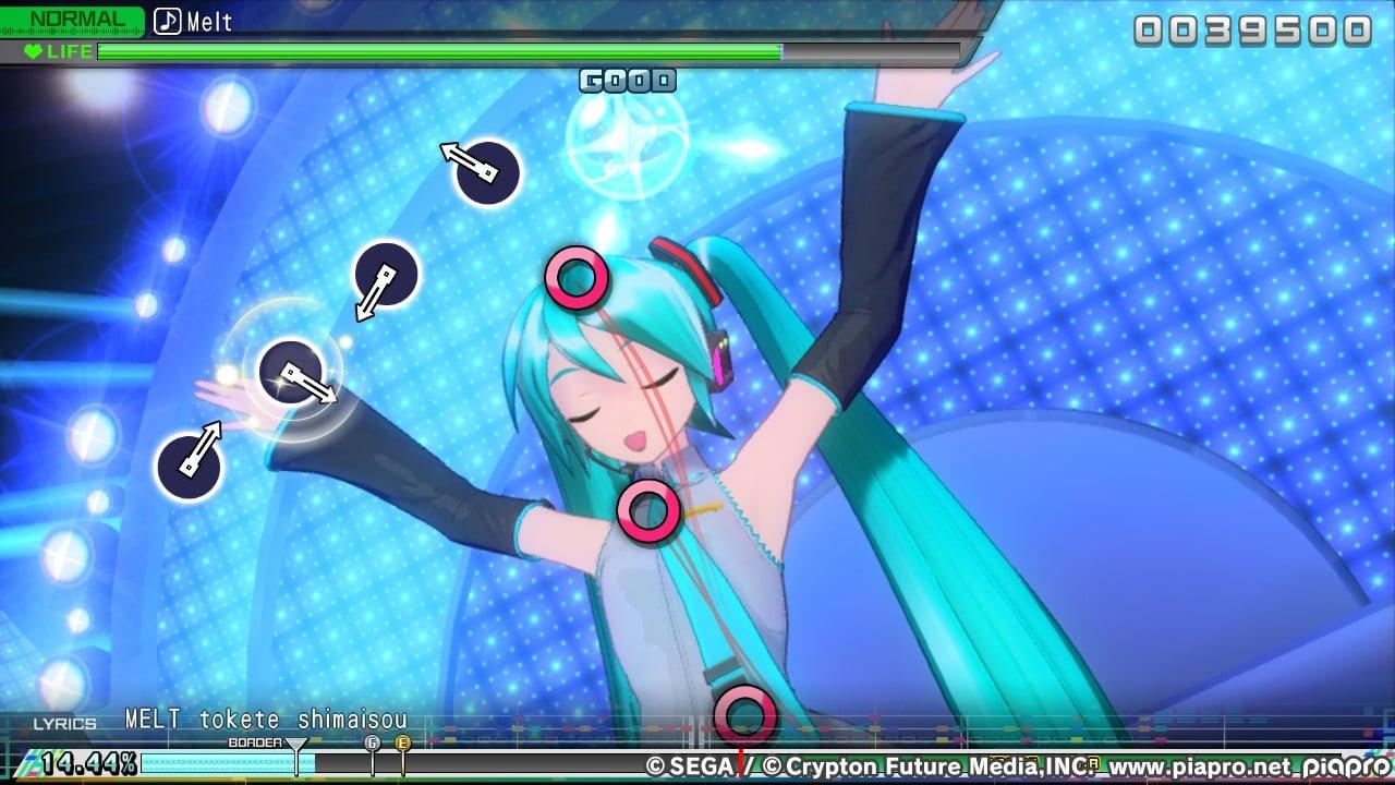 Hatsune Miku Project DIVA Mega Mix 1