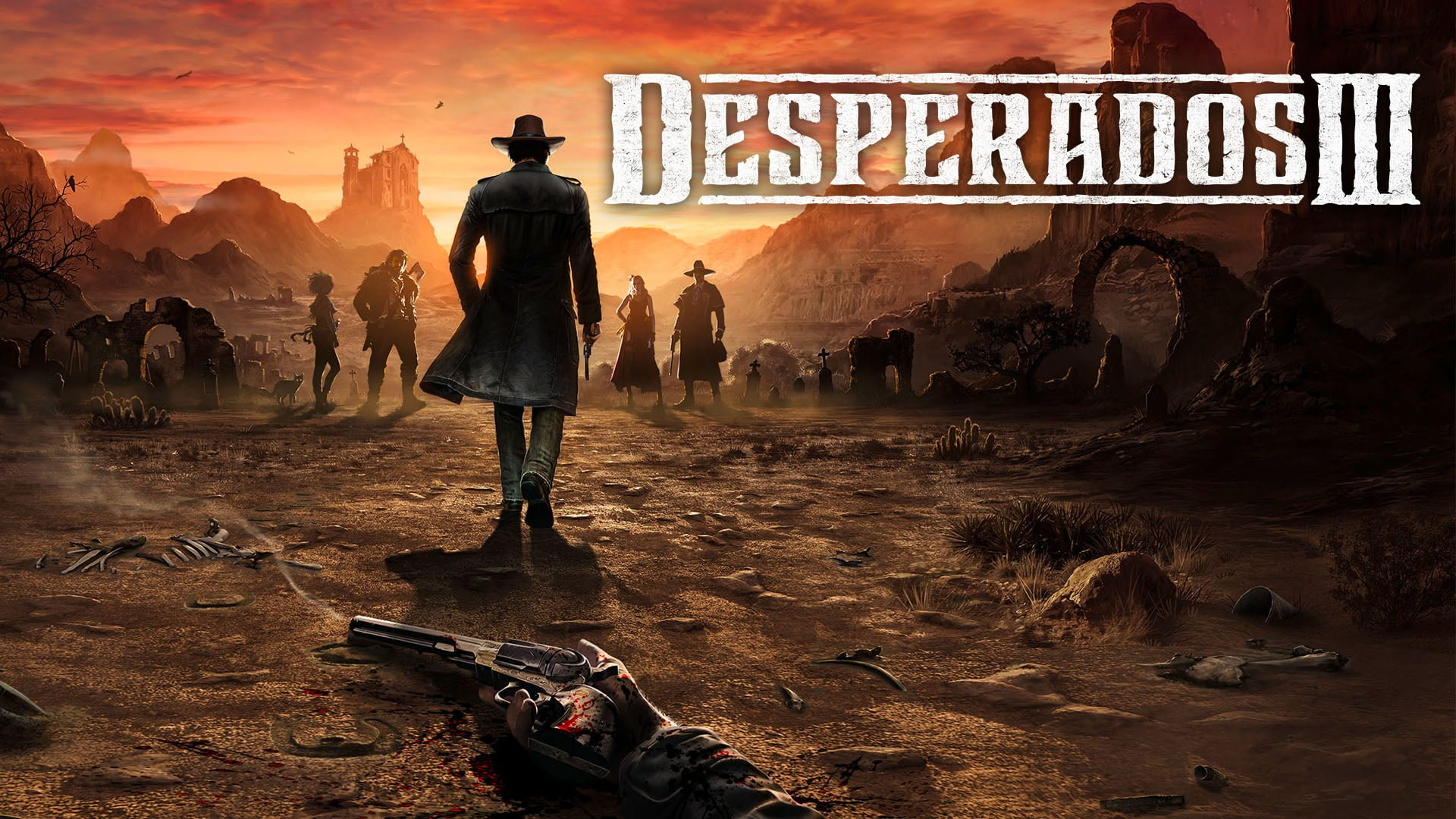 Desperados Iii 3 Ps4 Review Gamepitt Thq Nordic