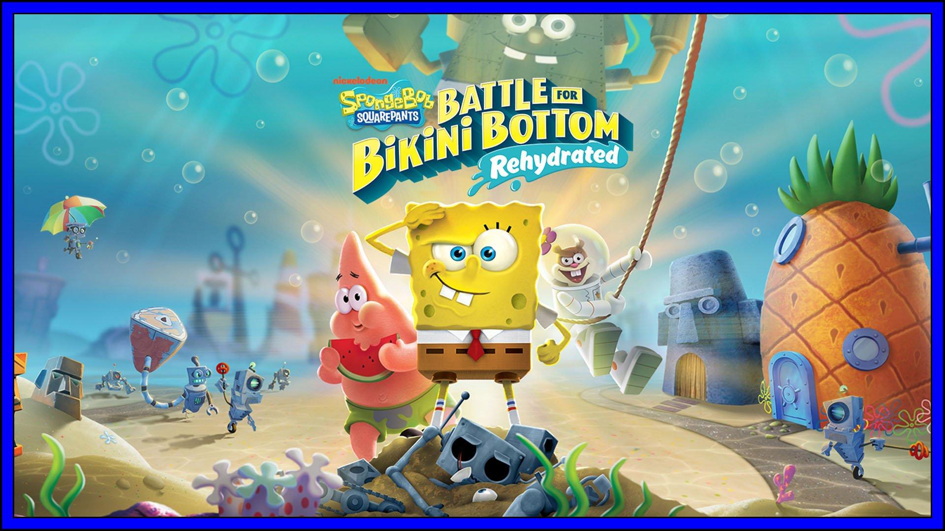 SpongeBob SquarePants: Battle for Bikini Bottom – Rehydrated (PS4) Review