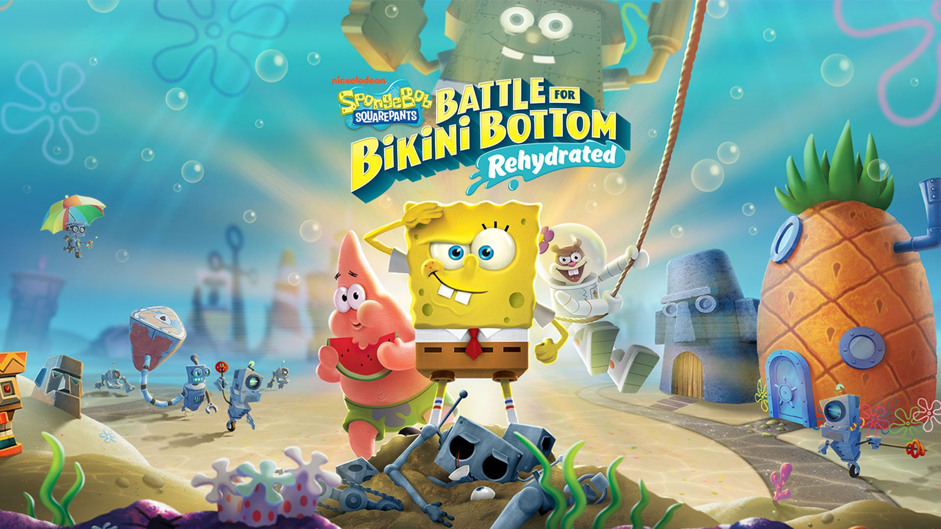 SpongeBob SquarePants: Battle for Bikini Bottom – Rehydrated (PS4) Review