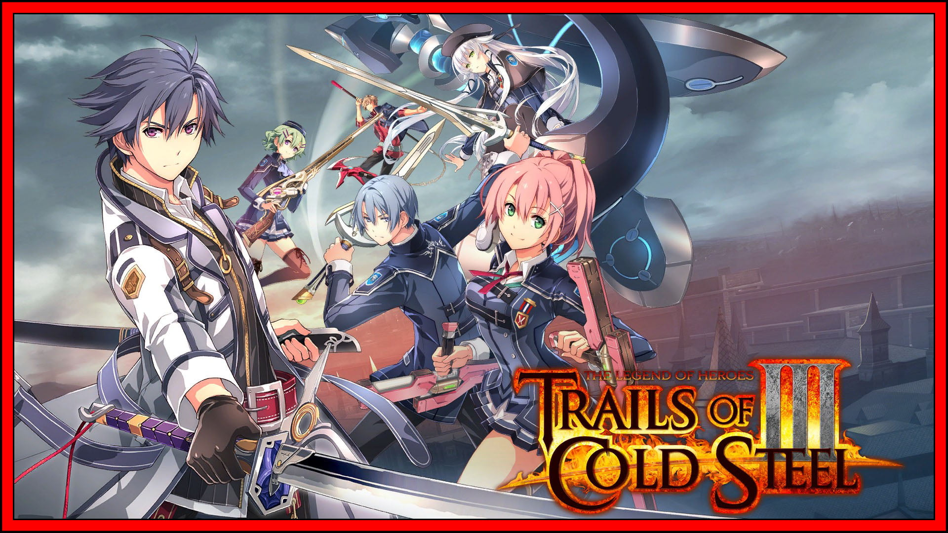 The Legend Of Heroes Trails Of Cold Steel III Switch Fi3