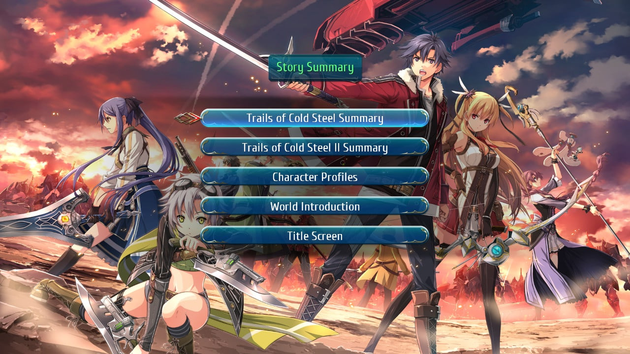 Trails of Cold Steel III - switch 5