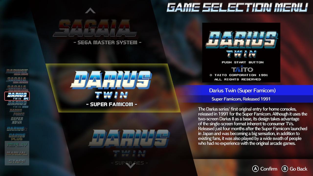 Darius Cozmic Collection Console 1