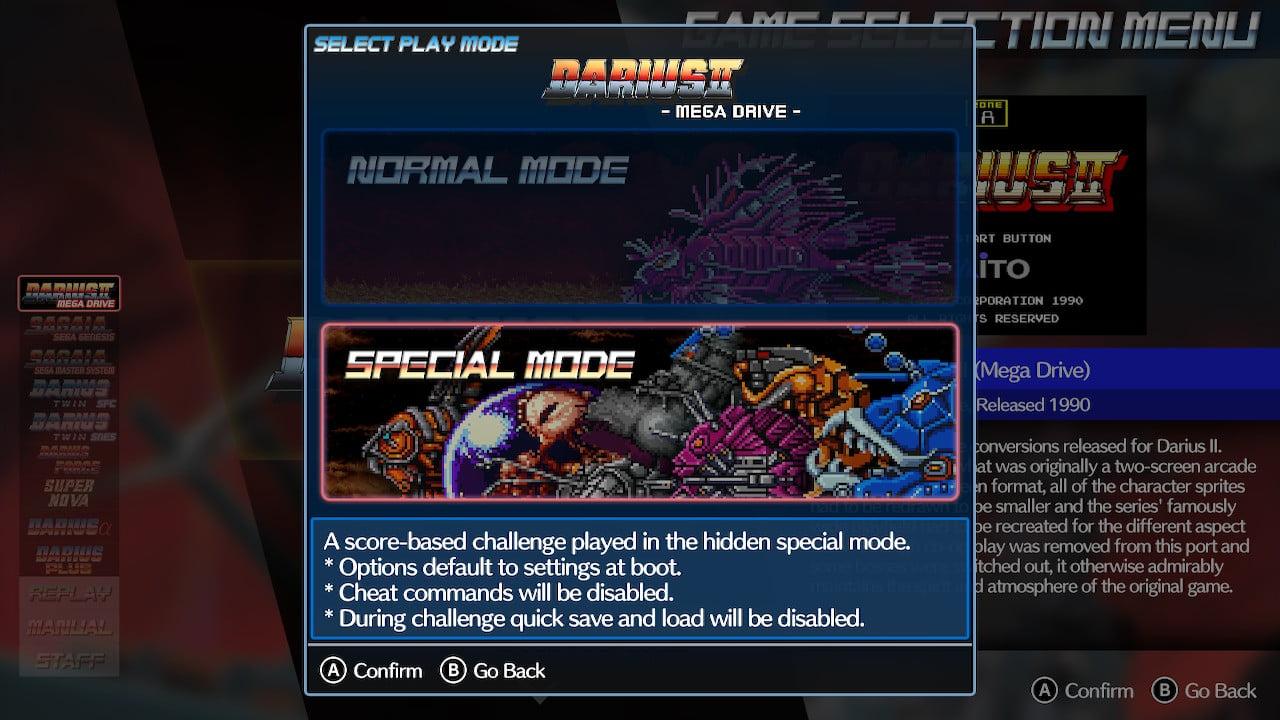 Darius Cozmic Collection Console 2