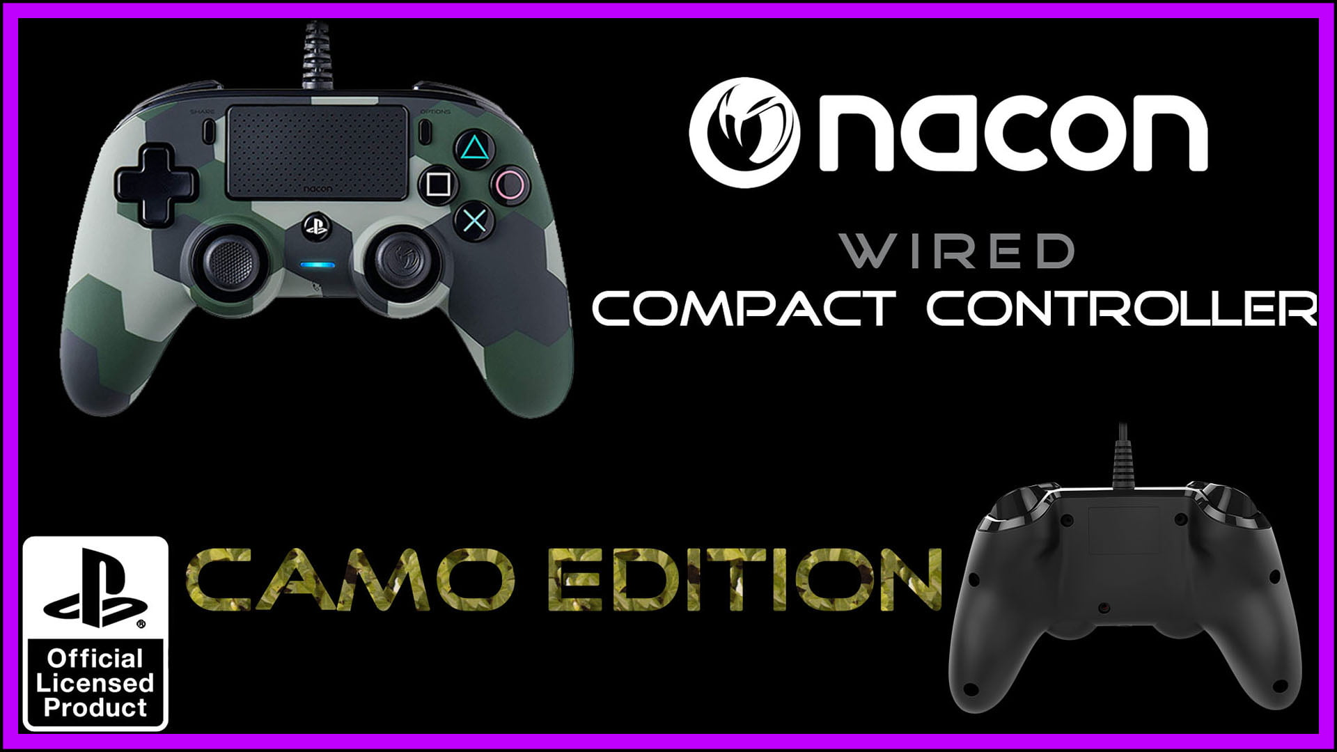 Nacon Wired Compact Controller Fi3