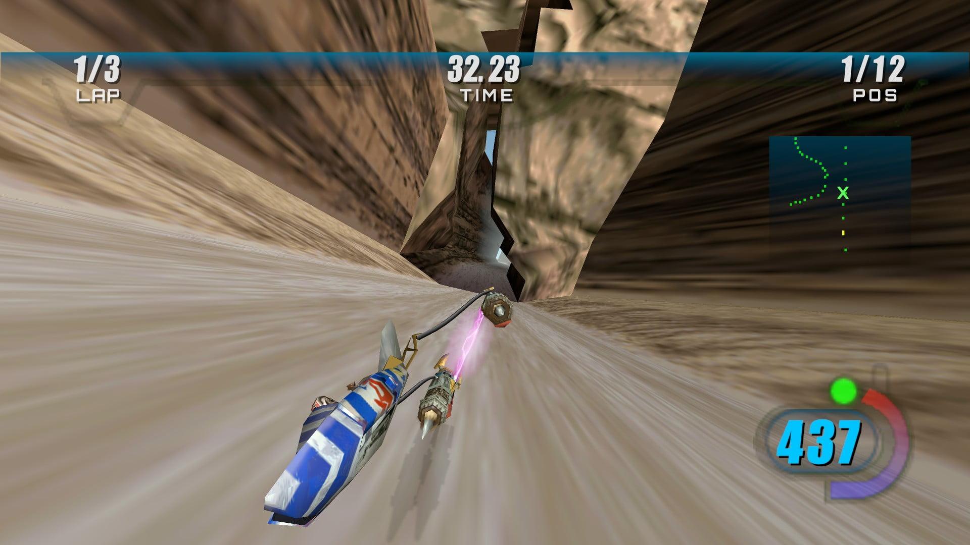 Star Wars Episode I Racer 2