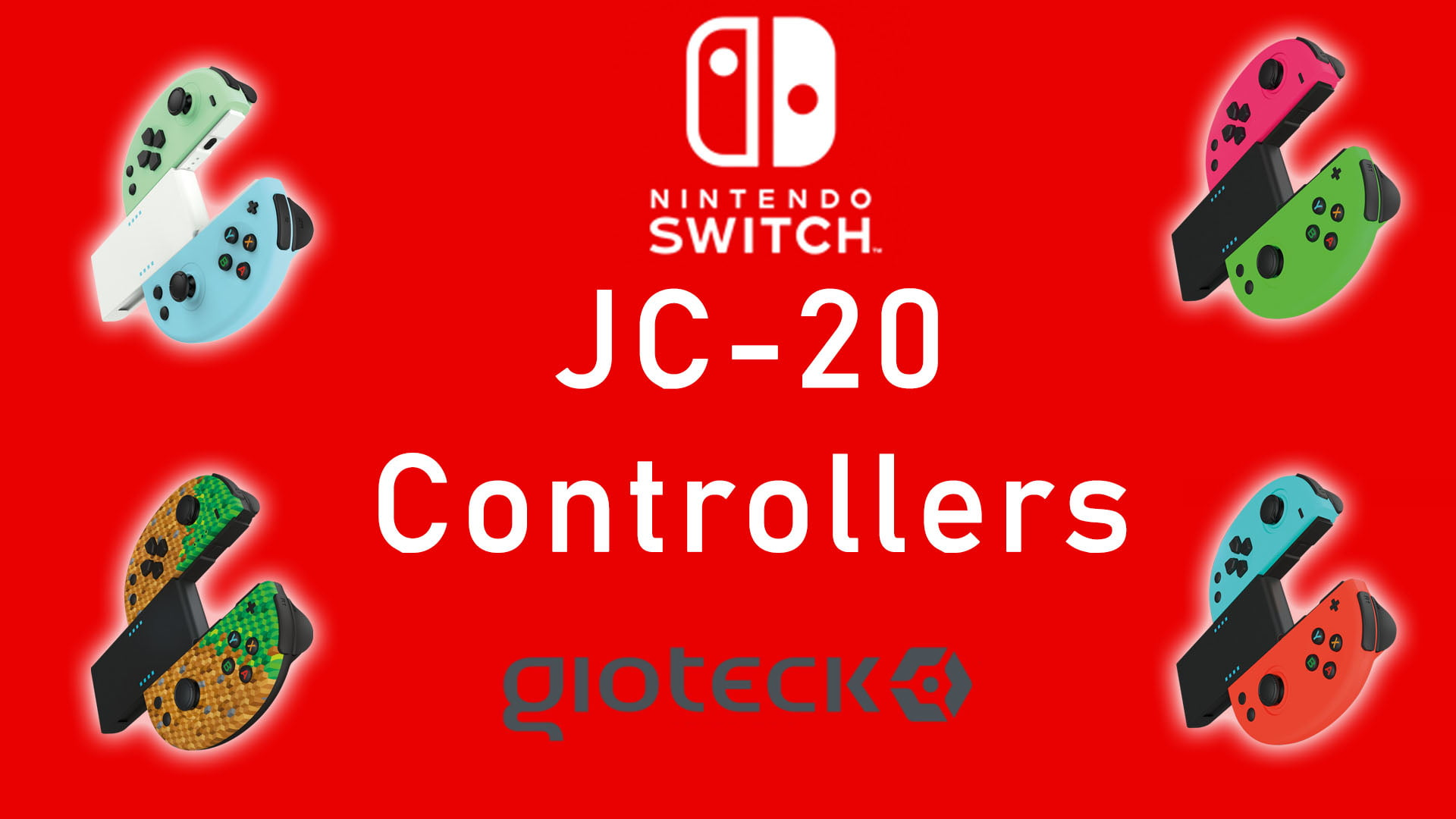 Gioteck JC-20 – Wireless Controllers (Switch) Review