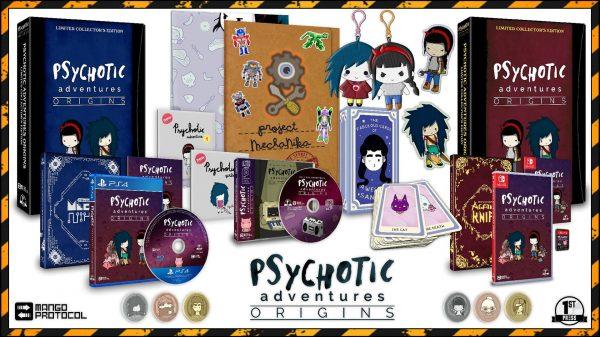 Psychotic Adventures Origins: Agatha Knife & MechaNika (Physical Release)
