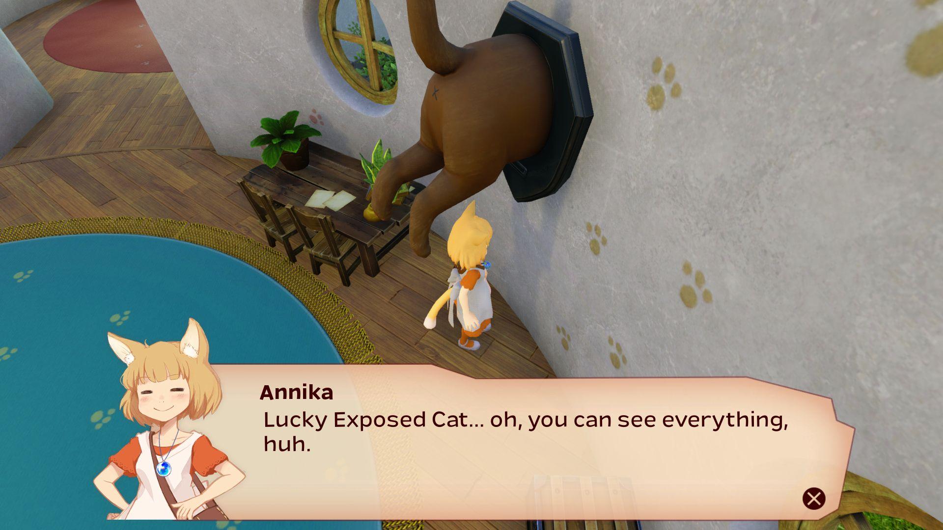 Giraffe and Annika 2