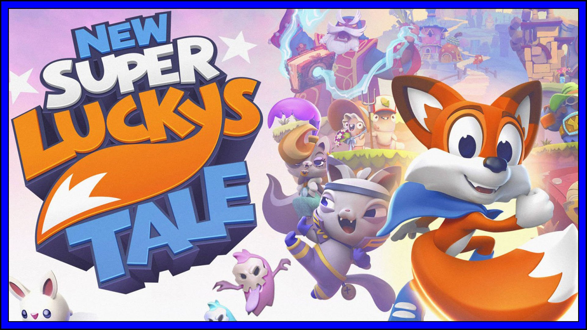 New Super Lucky's Tale PS4 Fi3