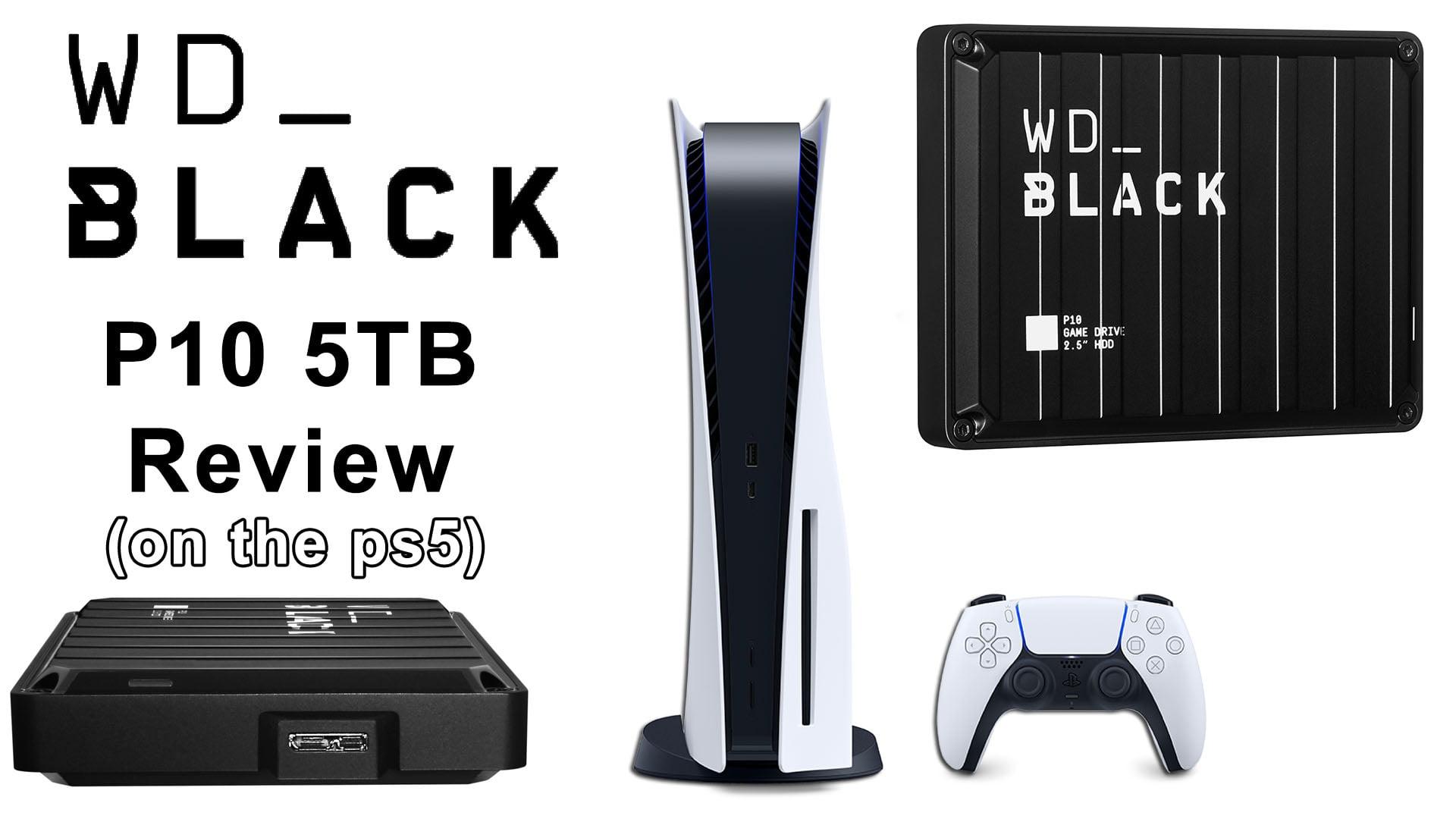 WD BLACK P10 Fi